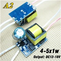 30pcs 4-5x1W 300ma LED driver, 4W 5W lighting transformers internal isolated power supply for lamp lighting, free ship