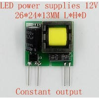 1pcs 2017 new Lighting Transformers 12V 3W small size Constant output power supply module quality goods