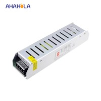 slim small size switch mode led power supply,converter ac 110 220v to dc 12v 120w 10a power supply