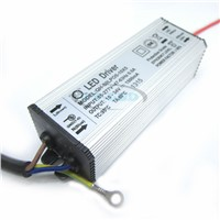 5pcs 5-10x5 1500mA 50W High Power LED Driver DC15-34v Power Supply IP67 Waterproof Constant Current Driver For FloodLight