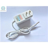 US  wall plug 12v 1a ac dc power adapter White 12V 1A switching power supply adapter 12V1000MA