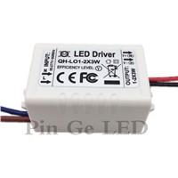 Constant Current LED Driver 1-2x3W 600mA 3-7V 3W 6W 600 mA 3 6 W Watt External Lamp Light COB Power Supply Lighting Transformer