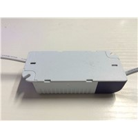 2pcs 8-12*1W 300mA Lighting switching Transformer CE ROHS Constant Current type LED Driver Power Supply plastic shell