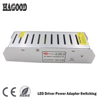 12-200W DC12V LED Driver Constant Voltage Power Adapter Switching AC100V-220V Transformer for LED Strip/Lamp