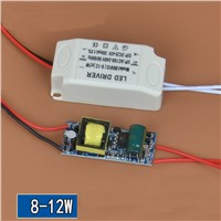 LED Drive external power supply 8-12W 280-300ma Constant current isolation with IC led driver for ceilling lighting 10pcs