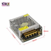 AC 110V - 240V  TO DC 9V 5A 45W Switching Lighting Transformers DC9V LED Power Supply Constant voltage CV Adapter For LED Lights