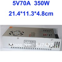 Switching Power Supply LED Driver 5V 70A 350W for LED Strip light AC100V-240V Input, CE&RoHS Certified