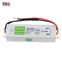 AC90-250V to DC24V 10W-150W Waterproof Electronic Led Driver Transformer Power Supply Adapter outdoor IP67 led strip lamp