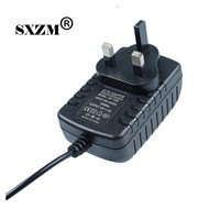 SXZM AC110-220V to DC12V 2A  power adapter EU/UK/AU/US plug with Female DC connector for led strip lighting