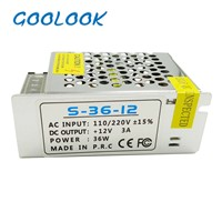 DC12V 3A  lighting Transformers LED Driver Power Adapter For LED Strip light Switch Power Supply