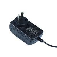 LEEDSUN EU/US/AU/UK Output DC 12V 2A AC100~240V power adapter 5.5*2.5mm, for led strip light,TV Box Switching Power supply