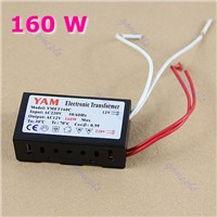 160W 220V Halogen Light LED Driver Power Supply Converter Electronic Transformer #S018Y# High Quality