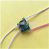 100pcs 12V input LED power driver 1-3X3W 600MA 1X3W 3X3W 3V 9W 10V led lamp transformer 4 wires low voltage current power supply