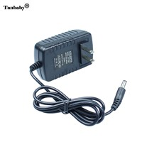 Tanbaby AC100~240V EU/US/AU/UK to DC 12V 2A power adapter 5.5*2.5mm for led strip light LCD Monitor TV Power supply