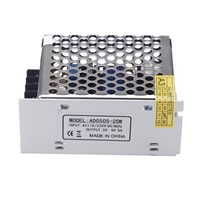 Promotion! AC 100V ~ 240V to DC 5V 5A 25W DC voltage converter switches power supply part for guided stripes