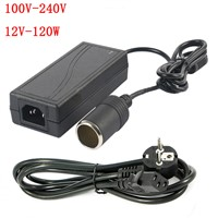 120 W AC 100 V - 240 V  to DC 12 V car cigarette lighter AC / DC adapter converter transformer DC power converter free delivery