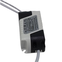 3W Constant Current 300mA Supply DC 9-18V LED Light Electronic Transformer