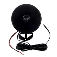 Promotion! 7 Sounds Tone Cars Motorcycles Trucks 12V 50W 150dB Horn Speaker Electronic Loud black speaker siren