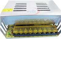 DC 12V 30A 360W Regulated Switching Power Supply For 5050 3528 RGB Strip 110~220