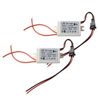 2 transformers power for led 85-265v 3w 9-14v