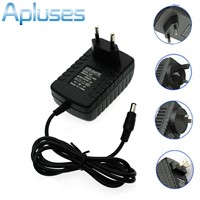 12V 2A AC/DC 100-240V Power Supply Charger Transformer Adapter for 5050 3528 LED RGB Strip light EU/UK/US/AU standard