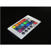 RGB LED controller 24 key MINI IR Remote Control for RGB LED strip Light 5050 DC 12V