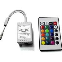 led strip 12V 24 Keys IR Remote Wirlesss Controller for SMD2835 LED Strip LED RGB Control Box Dimmer RGB Controller not battery