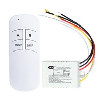 3 Style AC 220v Wireless ON/OFF 1way 2ways 3ways Lamp Light Digital Remote Control Switch Receiver Transmitter
