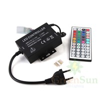 EU Plug Remote Controller RGB/Single Color 24/44 Key Button Mini Bluetooth IR/IF Remote Controller For RGB LED Strip Light