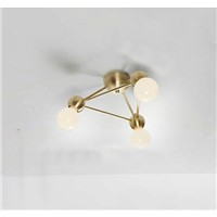 Modern Magic Bean Ceiling Light Bronze Flush Mounted Creative Living Room Bedroom Villa Ceiling Light Lighting Included Bulbs