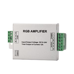 Led power amplifier DC12V 144W   for 24 / 44 Keys LED IR RGB Controler IR Remote Dimmer  SMD 3528 5050 10m-20m LED RGB strip