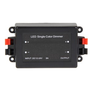 High Quality 110X55X32mm Wireless Dimmer Control DC12/24V 8A Brightness Adjustable LED Light Single Color Dimmer Controller