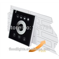 LED controller with touch panel PWM dimmer 12A driver for led strip led bulb and led panel light 4pcs/package