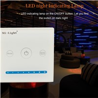 Mi-light Led Controller Touch Switch Panel led dimmer Adjust Brightness for Led Strips, Panel Lights