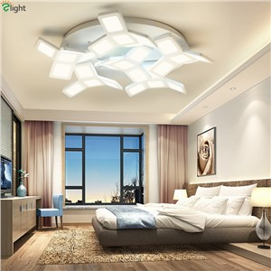 Modern Simple Metal Led Ceiling Chandeliers Lights Lustre Acrylic Living Room Led Chandelier Lighting Led Chandelier Fixtures