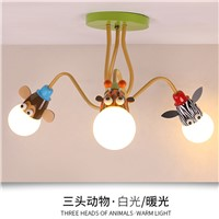 3 lights 4 lights children bed lighting Chandelier Modern for Living Room E27 children chandelier lighting