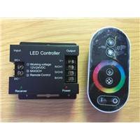 controller touch LED controllerThe RF all touch the RGB controller 12 to 24 v LED strip light controller  controller