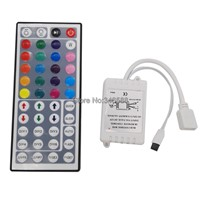 LED Controller 44 Keys LED IR RGB Controler Infrared Remote LED Controller DC12V 6A For RGB SMD 3528 5050 LED Strip Tape