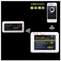 Mi Light 2.4G WiFi Controller + 1*4-Zone RGBW Controller of 2.4G Wireless RGBW Control System