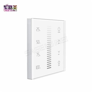 LTECH EX1S  2.4GHz RF LED Dimming touch panel Brightness adjustment DMX512 Dimmer for led tape lamp led strip light AC110V~220V