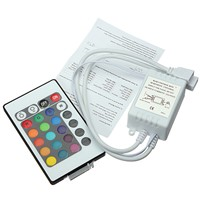 24 Keys RGB IR/Mini Remote RGB Controller DC12V Controller for RGB LED Strip lights Mini Controller