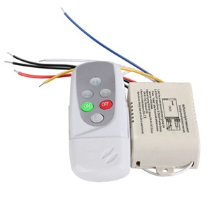 Wireless 3 Ways On/Off Digital Remote-Control Switch for LED Light 220-240V High Quality