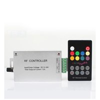 DC12V 24V Audio sound 3 channel RF wireless remote rgb led music controller for led strip light
