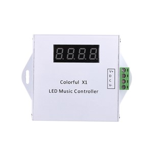 LED Music Remote Controller Can Control 600Pixels LED Strip 70db White