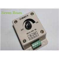 12V 24V DC 8A Single Color LED Dimmer Switch Brightness Controller for led lamp strip light