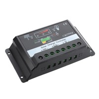 PWM Solar Charge Controller Solar Module Solar Panel 20A 12/ 24V Charge Controller LED Display