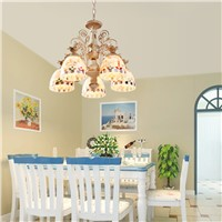 Posey decorated chandeliers, exquisite colors, beautiful beach effects, tables, kitchen lighting