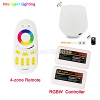 2x 2.4G RGBW Controller + Mi light WiFi controller + wireless remote control