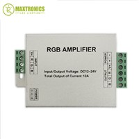 DC12-24V 12A RGB Amplifier Controller For 3528 5050 RGB LED Strip Module Light