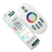 2.4G led Touch pannel wireless rgb controller with 12V 2.4g led controller rgb for led strip, led controller programable